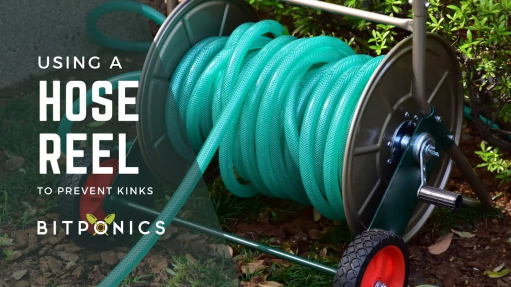 Using a Reel for Your Garden Hose