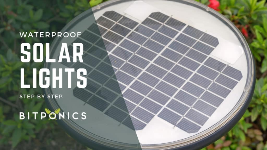 How Can You Make Outdoor Solar Lights Waterproof?
