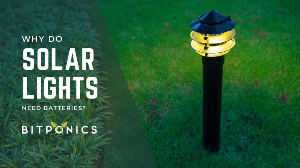 Why Do Solar Lights Need Batteries?